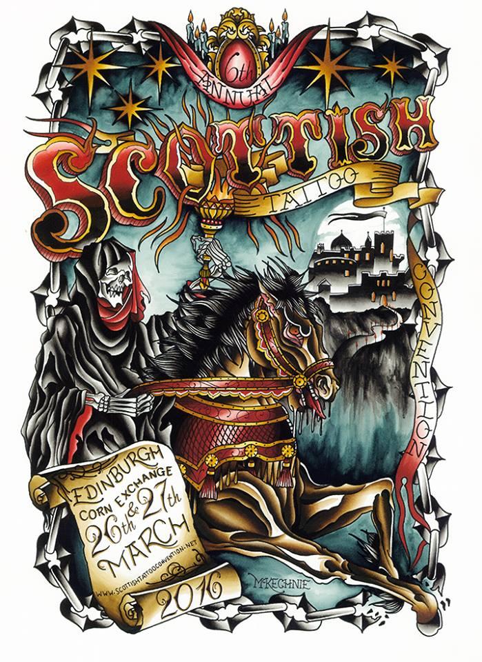 Scottish Tattoo Convention 2016 Land Ahoy